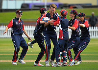 160405 NZ Secondary Schools Regional  Cricket Final - HIBS v Wellington College