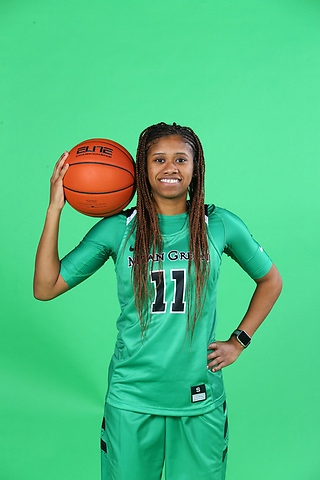 Mean Green Women's basketball at Super Pit in Denton on December 10, 2020