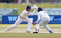 Matt Milnes bats for Kent during Kent CCC vs Lancashire CCC, LV Insurance County Championship Group 3 Cricket at The Spitfire Ground on 25th April 2021