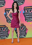 Miranda Cosgrove at Nickelodeon's 23rd Annual Kids' Choice Awards held at Pauley Pavilion in Westwood, California on March 27,2010                                                                                      Copyright 2010 © DVS / RockinExposures