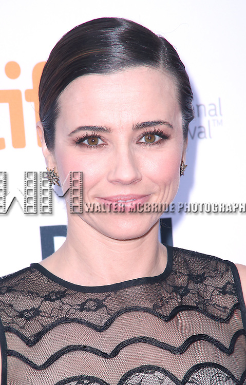 Linda Cardellini attends the 'Welcome To Me' premiere during the 2014 Toronto International Film Festival at Princess of Wales Theatre on September 5, 2014 in Toronto, Canada.