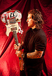 Various portrait sessions of the rock band, Buckcherry.