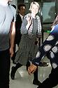 Mia Wasikowska arrives in Japan