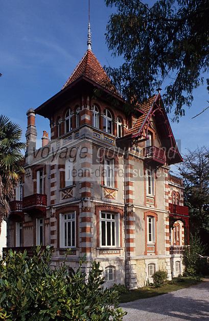 Europe/France/Aquitaine/33/Gironde/Bassin d'Arcachon/Arcachon: La ville d'hiver - Villa Theresa -