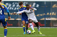 Aaron Pierre of Shrewsbury Town during AFC Wimbledon vs Shrewsbury Town, Sky Bet EFL League 1 Football at The Kiyan Prince Foundation Stadium on 17th October 2020