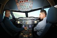 17.12.2015: A380 Flugsimulator in Egelsbach