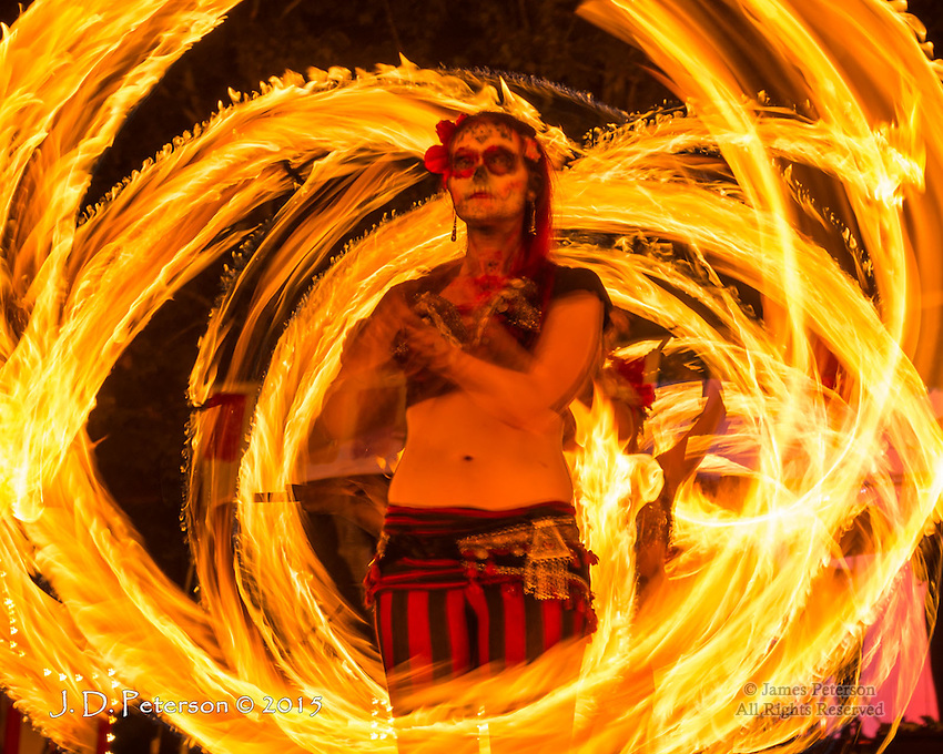 Dia de Los Muertos Fire Dance #5, Sedona, Arizona