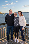 Linday's Pre-Bat Mitzvah Family Portraits On The Hudson River Waterfront
