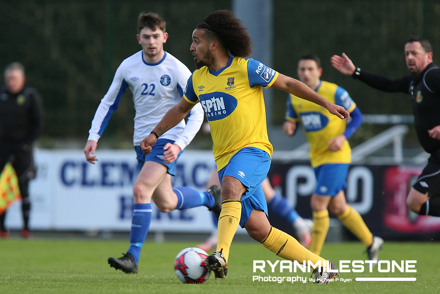 Bastien Hery of Waterford during the pre-season friendly game between Waterford FC and Limerick FC on Sunday 27th January 2019 at the RSC, Waterford. Mandatory Credit: Michael P Ryan.