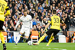 Real Madrid's Cristiano Ronaldo and Borussia Dortmund Julian Weigl during the UEFA Champions League match between Real Madrid and Borussia Dortmund at Santiago Bernabeu Stadium in Madrid, Spain. December 07, 2016. (ALTERPHOTOS/BorjaB.Hojas)