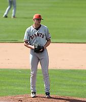 Keaton Winn - San Francisco Giants 2019 spring training (Bill Mitchell)