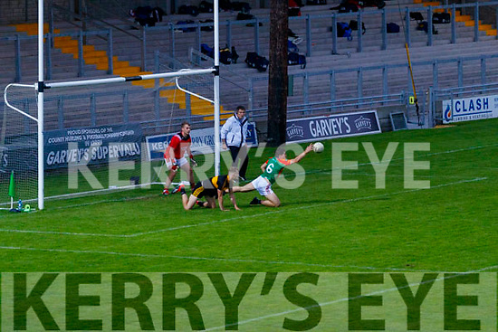 Mike Breen, Mid Kerry during the Kerry County Senior Football Championship Semi-Final match between Mid Kerry and Dr Crokes at Austin Stack Park in Tralee, Kerry.