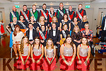 """The contestants with the judges and danders at the Tralee Musical Society """"Strictly Come Dancing"""" Mr and Mrs in the Ballyroe Heights Hotel on Saturday."""