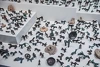 Museo Archeologico Olimpia Offerte a Zeus, animali in bronzo e terracotta, IX-VIII sec a.C Patrimonio Unesco