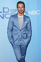 UNIVERSAL CITY, LOS ANGELES, CA, USA - JANUARY 30: Derek Hough at a photo op for NBC's 'World Of Dance' at NBC Universal Lot on January 30, 2018 in Universal City, Los Angeles, California, United States. (Photo by Celebrity Monitor)