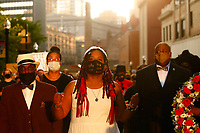Danielle Brown - Living Euology/Mock Funeral Procession (Day 34 of Hunger Strike)
