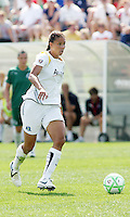 Shannon Boxx...Saint Louis Athletica and LA Sol, played to a 0-0 tie at Robert Hermann Stadium in St Louis, MO. April 25 2009.
