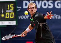 09-09-11, Tennis, Alphen aan den Rijn, Tean International, Thiemo de Bakker sneuvelt in de kwartfinale tegen Sijsling