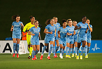 31st August 2021; Estadio Afredo Di Stefano, Madrid, Spain; Women's Champions League, Real Madrid CF versus Manchester City Football Club; Manchester City team ready for kick-off