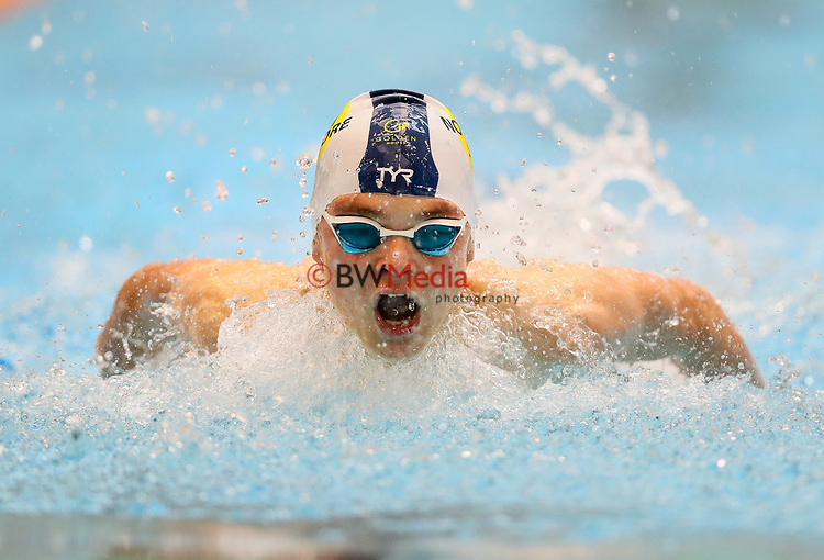 Liam Vogel. Session 1 of the AON New Zealand National Age Group Swimming Champs, Wellington Regional Aquatic Centre, Auckland, New Zealand.Monday 19 April 2021 Photo: Simon Watts/www.bwmedia.co.nz