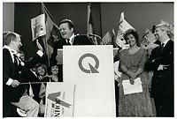 Course a la chefferie du PQ<br /> , 29 septembre 1985<br /> <br /> PHOTO : Agence Quebec Presse