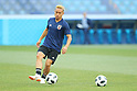 Soccer: FIFA World Cup Rusia 2018: Japan training session