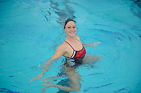 Morgan Fuller of the 2010 Stanford Synchronized Swimming team.