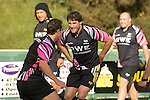 Marty Holah during Ospreys rugby training at Llandarcy Institute of Sport near Neath aheah of their Heineken Cup match with Clermont Auvergne on Sunday..