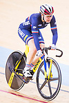 Coralie Demay of France compete on the Women's Madison 30km Final during the 2017 UCI Track Cycling World Championships on 15 April 2017, in Hong Kong Velodrome, Hong Kong, China. Photo by Chris Wong / Power Sport Images