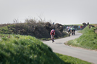 racing the twisting narrow belgian farm roads<br /> <br /> 60th E3 Harelbeke (1.UWT)<br /> 1day race: Harelbeke › Harelbeke - BEL (206km)