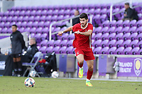Orlando, Florida - Monday January 15, 2018: Jon Bakero. Match Day 2 of the 2018 adidas MLS Player Combine was held Orlando City Stadium.