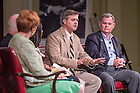 """June 5, 2015; Dr. David Gaus '84 shares his memories of Fr. Hesburgh at the """"Stories of Father Ted"""" panel discussion, Reunion 2015. (Photo by Matt Cashore/University of Notre Dame)"""