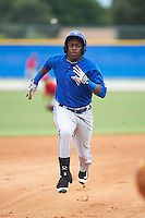 Toronto Blue Jays DJ McKnight (84) during an instructional league game against the Philadelphia Phillies on September 28, 2015 at the Englebert Complex in Dunedin, Florida.  (Mike Janes/Four Seam Images)