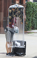 NEW YORK, NY - July 14: Sarah Jessica Parker 's wardrobe arrives on the set of the HBOMax Sex And The City reboot series 'And Just Like That' in New York City on July 14, 2021. <br /> CAP/MPI/RW<br /> ©RW/MPI/Capital Pictures
