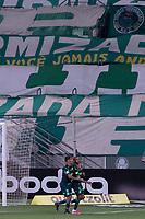 SÃO PAULO, SP, 06.06.2021 - PALMEIRAS-CHAPECOENSE – Wesley do Palmeiras comemora seu gol durante partida contra a Chapecoense, jogo válido pela segunda rodada do Campeonato Brasileiro 2021, disputada na Arena Allianz Parque em São Paulo, neste domingo, 06. (Foto: Levi Bianco/Brazil Photo Press)