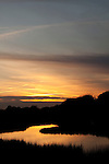 sunset tidal creek marsh grass lowcountry south carolina