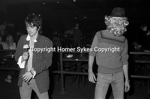 Virgin Records company office party at The Venue Victoria London 1978.