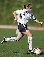 MAR 11, 2006: Quarteira, Portugal:  USWNT forward Heather O'Reilly