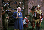 Abbots Bromley Horn Dance Maid Marian or Marion, mad dressed as woman.