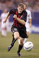 The MetroStars' John Wolyniec. D.C. United defeated the MetroStars 1 to 0 in regular season MLS action on Saturday October 2, 2004 at Giant's Stadium, East Rutherford, NJ..
