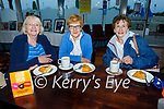 Supporting the Hospice Coffee evening in the Banna Beach Hotel on Thursday, l to r: Eileen Kirwin (Ardfert), Nell McCarthy (Ardfert) and Patricia Casey (Ballyheigue).