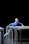 ONE FLAT THING REPRODUCED....Choregraphie : FORSYTHE William..Compagnie : Ballet de l Opera de Lyon..Decor : FORSYTHE William..Lumiere : FORSYTHE William..Costumes : FORSYTHE William MIYAKE Issey..Lieu : Theatre de la Ville..Ville : Paris..Le : 07 04 2009..© Laurent PAILLIER / www.photosdedanse.com..All rights reserved