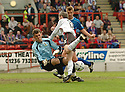 20040509    Copyright Pic: James Stewart.File Name : jspa15_clyde_v_ict..James Stewart Photo Agency 19 Carronlea Drive, Falkirk. FK2 8DN      Vat Reg No. 607 6932 25.Office     : +44 (0)1324 570906     .Mobile  : +44 (0)7721 416997.Fax         :  +44 (0)1324 570906.E-mail  :  jim@jspa.co.uk.If you require further information then contact Jim Stewart on any of the numbers above.........
