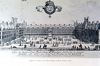 Paris: View of the Place Royale, 1652. Reps, MAKING, fig. 11. Reference only.