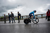 Mikel Landa (ESP/Movistar)<br /> <br /> Stage 9 (ITT): Riccione to San Marino (34.7km)<br /> 102nd Giro d'Italia 2019<br /> <br /> ©kramon
