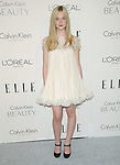 Elle Fanning walks the carpet as Elle Honors Hollywood's Most Esteemed Women in the 17th Annual Women in Hollywood Tribute held at The Four Seasons Beverly Hills in Beverly Hills, California on October 18,2010                                                                               © 2010 VanStory/Hollywood Press Agency