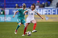 Harrison, N.J. - Sunday March 04, 2018: Verena Faißt during a 2018 SheBelieves Cup match between the women's national teams of the Germany (GER) and England (ENG) at Red Bull Arena.