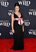 """LOS ANGELES, CA: 13, 2020: Cara Gee at the world premiere of """"The Call of the Wild"""" at the El Capitan Theatre.<br /> Picture: Paul Smith/Featureflash"""
