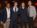 Members of the Nevada baseball team during the 35th Annual Bobby Dolan Baseball Dinner in the Reno Ballroom on Thursday, January 17, 2019.