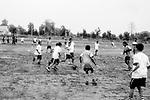 Students of Sukma Football academy practice in their ground at the educational complex in Sukma.Sukma, Chattisgarh, India. Arindam Mukherjee.